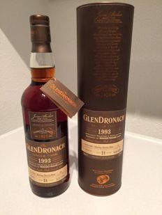 Glendronach 1993 Caskno. 23 / 21 years old single cask 15-01-1993