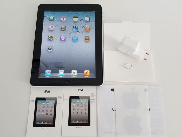 apple ipad 1e generation 32gb with wifi and 3g catawiki. Black Bedroom Furniture Sets. Home Design Ideas