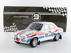 Triple 9 Collection - Scale 1/18 - Ford Escort MK1 #19 Rally Monte Carlo 1972