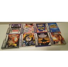 Lot of: 8 boxed Nintendo Game Boy Advance Games - All boxed with Instructions.