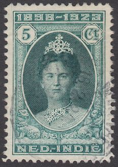 Dutch-Indonesia 1923 - Government jubilee Queen Wilhelmina - NVPH 160C