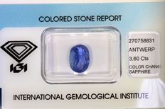 Colour Changing Sapphire – 3.60 ct