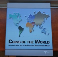 "World – Coin sets ""Coins of the World"" (24 different sets) in album."