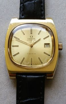 Omega Geneve Date Gold Filled  1970-1979