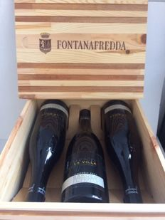 "2001 Barolo Fontana Fredda ""La Villa"" - 6 bottles in original wooden case"