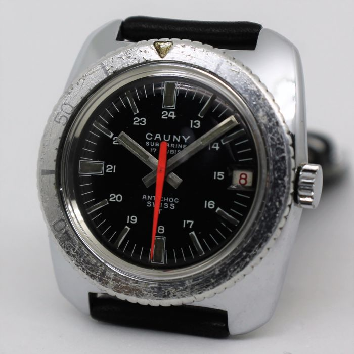 Cauny Submarine - Men's Wristwatch