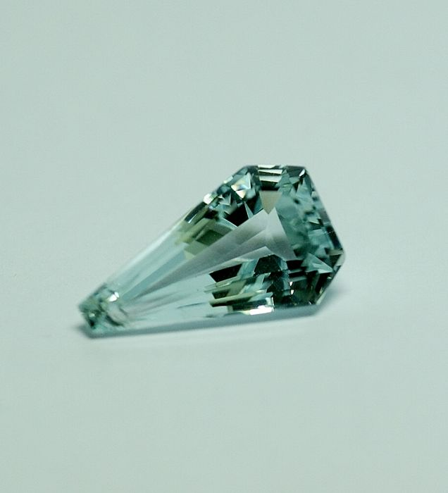 Aquamarine – blue, 6.68 ct
