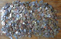 World – Batch of various coins (± 2000 pieces)