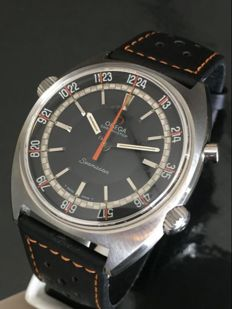 Omega Seamaster Chronostop GMT -  mens watch  -  1969