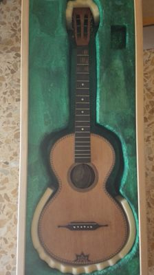 Vintage guitar from the mid-1800 - Germany - Carl Ruckwich