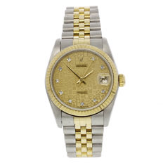 Rolex – women's Medium size- Datejust – 31 mm- bicolour – Jubilee dial – Jubilee strap