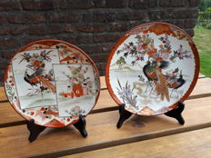 Two Kutani plates – Japan – 1st half of the 20th century