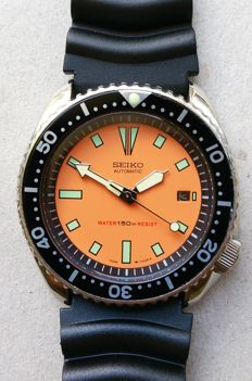 Seiko 7002-700J AI 42 mm Submariner – Wristwatch – 1985-1995