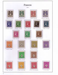 France 1945/1959 - 15 complete years - Yvert 669/1229
