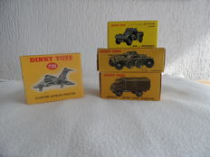 Dinky Toys - Scale 1/43-1/144 - Lot with 4 models: Nos.814 /815 / 821 / 735