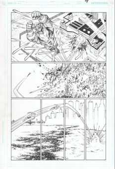 Jesús Merino - Original Art - DC Comics - Superman #684 - Page 9 - (2009)