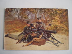 Lot of 65 Military postcards Netherlands/NL Regiments - Humor - Mobilization period