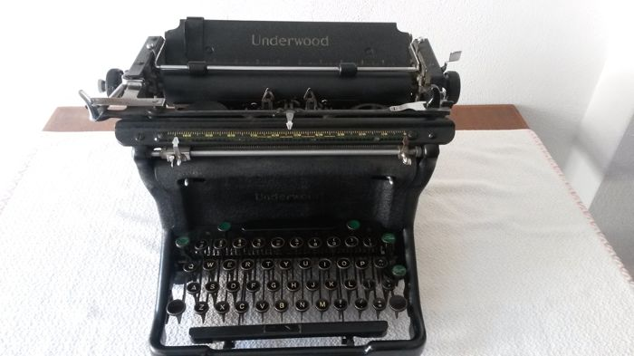 Underwood S Typewriter, USA, ca. 1940