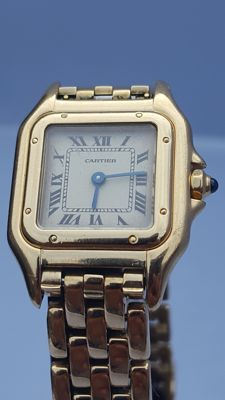 Cartier Panthere 18 kt ladie's watch