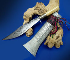 Antique Dha dagger - Tibet - 19th century