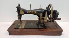 Kayser - antique decorative sewing machine, Germany, first half 20th century