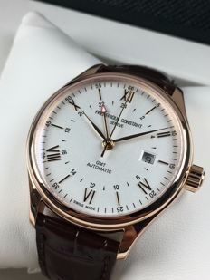 Frederique Constant Classics Index GMT automatic, ref.: FC-350V5B4 – men's watch