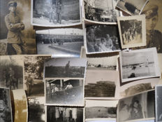 World War II lot of 27 original WW2 photos (including some special of Zeebrugge, Walcheren and Champagne).