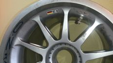 Motor racing, Austria/Milton Keynes, Sebastian Vettel RED BULL RB7 'Kinky Kylie' - Front rim of the car that won the 2011 F1 World Championship