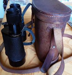 Carl Zeiss binoculars from the 1920s/30s - model Jena Delactis 8x40 with original leather case