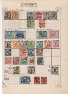 "China 1912-1935 – Stamps including ""Red Revenue Overprints""."
