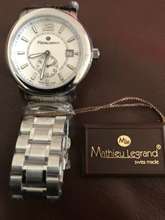 Mathieu Legrand solid steel silver MLG-1101C 2017