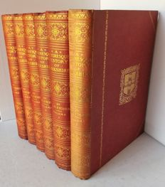 J. S. Fletcher - Picturesque History of Yorkshire - 6 Volumes - ca.1901