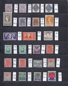 The Netherlands 1921/1931 – collection of plate flaws