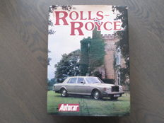 Book; Peter Garnier - Rolls Royce - 1981