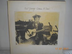 Neil young & J.J. cale  ''lot of 9 albums''