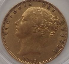 Great Britain - Sovereign 1852 - Victoria - Gold