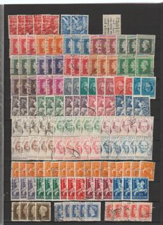 The Netherlands 1942/1981 – Lot between NVPH 402 and 1231