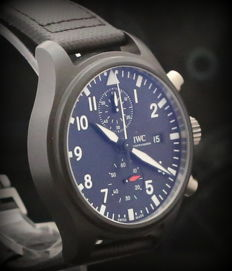 IWC Pilot's Top Gun Chronograph Full Set 2017 - IW389001