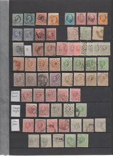 The Netherlands 1852/1939 – Batch starting from classic, between NVPH 1 and 326