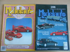 Model Car - Lot with 85 model car magazines 1984 to 2005
