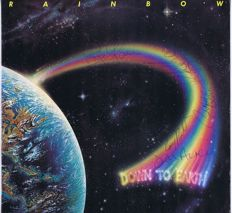 Rainbow - LP: Down To Earth (Polydor 2391 410) Holland 1979 | AUTOGRAPHED by all 5 members (see scans)