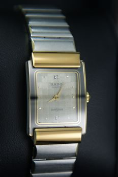 Rado DiaStar ladies's wristwatch with diamonds, Ref. 153.0524.3