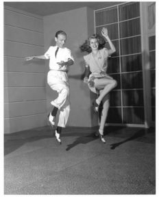 Johnny Florea (1916-2000) - Fred Astaire and Rita Hayworth - 1942