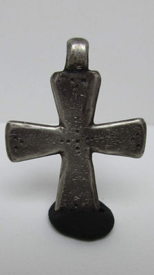 Knight Templar cross made of silver - 33 x 25 mm