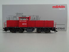 Märklin H0 - 37641 - Heavy multifunctional diesel- / shunting locomotive Series 6400 MaK-Vossloh of the NS Cargo, no. 6513