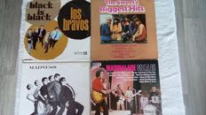 a great lot of different styles of music, pop,rock and ska.14 albums by; Los Bravos, Marmalade, Mud, the Sweet, Madness, Spandau Ballet, Showaddywaddy,Smokie, Dave Dee, Dozy,Beaky,Mick&Tich,10CC, Al Stewart and a compilation album.