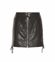 Alexander McQueen – Leather skirt