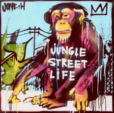 Jone Hopper - Jungle street life