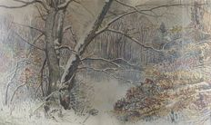 Emma Bormann (1887-1974) - Winterlandschaft