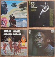 Miles Davis 4x LP from his electric period 1968-1970: Bitches Brew - Water Babies - A Tribute To Jack Johnson - In a Silent Way